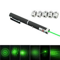 Wholesale Powerful mw nm in Green Lazer Beam Light Laser Pointer Pen Caps