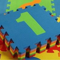 Wholesale 10pcs D puzzle Baby Creeping mat children s game Toddler foam mat to prevent the fall puzzle