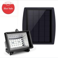beads path - Solar Panel LED Flood Light Security Garden Light LED beads Energy saving courtyard outdoor lamp Path Wall Lamps Outdoor waterproof Lamp