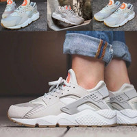 beach bones - Hot Sale Huarache Run Textile LIGHT BONE TXT Women and Men Sport Sneakers Shoes