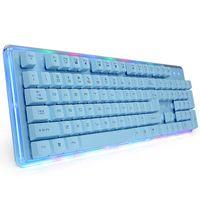 Wholesale E lue EKM725 Waterproof mechanical backlight Colorful Gaming Keyboard