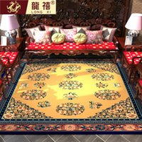 Wholesale Pure wool Tibetan carpets Hand carved Chinese national craft carpets tapestry The sitting room the bedroom carpet tea table