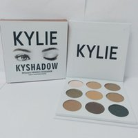 Wholesale Pre sale hot new kylie Kyshadow pressed powder eye shadow palette the Bronze Palette Kyshadow Kit Kylie Cosmetic colors