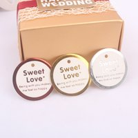 Wholesale Sweet Love Wedding Cards with paper cords Valentine s Day Gift Packaging Cards