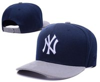 baseball nyy - New Caps Baseball Snapback Caps nyy Blue Hats And Gray Team Cap Mix Match Order All Caps in stock Top Quality Hat