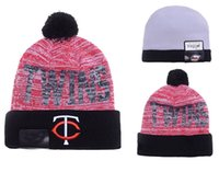 Wholesale Minnesota Twins Baseball Beanies Team Hat Winter Caps Popular Beanie Caps Skull Caps Best Quality Sports Caps Allow Mix Order