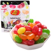 Wholesale 100g Jelly Belly candy jelly bean candy jelly bean candies jelly beans Assorted flavors Cocktail classical Soft sweets food