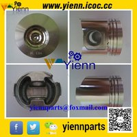 Wholesale Yanmar S4D84E TNE84 TNE84T Piston with Piston ring for Komatsu wheel loader SK820 YAG25S generator engine overhual repair