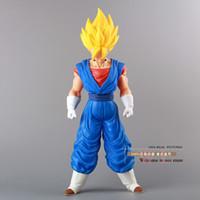 achat en gros de grands jouets de dragon-Dragon Ball Z Super Super Saiyan Vegito Vegeta Figurine d'action PVC Jouet modèle 36CM