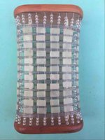 Wholesale High quality jade pillow gifts blackish green jade pillow health jade pillow