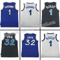 Wholesale Anfernee hardaway Basketball jersey Tracy McGrady embroidery jersey Cheap Throwback Shaquille O neal jerseys