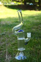 accent types - 13 quot new arrival Pillar perc empire perc gridded perc with blue accent Glass water pipes glass bongs with mm female joint