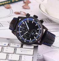 best designer watches men - High quality stainless steel watch man sport watch chronograph Quartz casual watch man Best Designer wrist watch for man leather watch