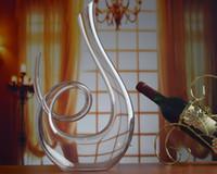 Wholesale Lead free glass wine glass Europe amorous creative shape wine decanters wine sobering wine device bar accessories