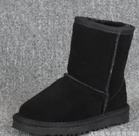 baby australia - so hot New Real Australia High quality Kids Boys girls children baby warm snow boots Teenage Students Snow Winter boots