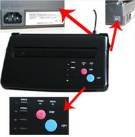 Wholesale Low Price A4 Transfer Paper black Tattoo copier thermal stencil copy Transfer Machine