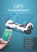 Wholesale 6 inch Bluetooth Hoverboard Music Speaker Self Balancing Scooter Electric Skateboard Balance Wheels Smart Scooters New Phone App Control