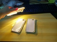 Wholesale 1 Light up your phone case front light back cover Fill in light Phone Case for iphone pus s SE s plus DHL free
