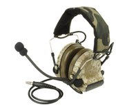 backpacking desert - Z Tactical ComTac II Sordin Noise Reduction Canceling Sound Military Tactical Headset without PTT Adapter Digital Desert Camo