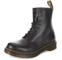 al por mayor ankle man boots-Venta al por mayor del estilo del tobillo del invierno del cuero genuino del Dr. Marten Martin patean los zapatos del diseñador MenWomen Dr botas de agua