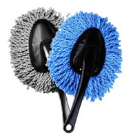 Wholesale Small wax brush clean with a small wax car washing supplies it will take Mini dust car duster removable wax mop