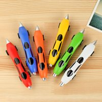 ball officer - New Classic Racing Car Ball Point Pens Telescopic Pens Blue Ink Bullet Type mm Officer Students Kids Gift