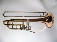 bass trombone cases - BbFEbD Bass trombone Bell mm Lacquer Finish with Foambody case Wind musical instruments