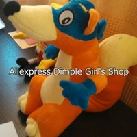 Wholesale KIDS TOY FOR BABY TOY Small Fox Swiper Plush Toy Soft Doll Adventurous Dora the Explorer Stuffed Animal For Baby Boy Girl Gift