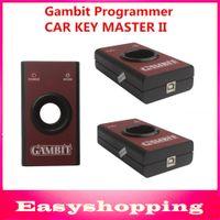 al por mayor transpondedor rfid-Venta al por mayor de alta quaity Gambito programador COCHE LLAVE MAESTRA II transpondedores RFID de programación y programador clave de generación de escáner profesional