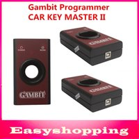 Cheap Wholesale-High quaity Gambit programmer CAR KEY MASTER II RFID transponders Programming and Generating Scanner Professional key programmer