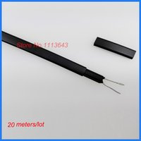 Wholesale Anti freeze Frost Protection Heating Cable For Water Pipe Self Regulating Electric Heater Wire m