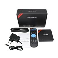 Wholesale NEXBOX A95X S905X TV Boxes Android K Set Top Box KODI Pre installed GB GB Player with Learning Remote Control