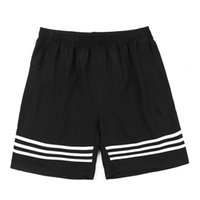 basketball short pants - New men s Luxury brand Sport running shorts Loose breathable Quick drying Football basketball training pants Thailand quality Three leaves