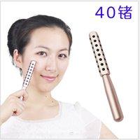 1pcs KAKUSAN 30 40 48 Germanio Pietre Massager del fronte rullo facciale di bellezza Riduzione delle rughe Giappone Semiconductor Beauty Bar