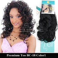 bebe women - 6PCS Aplique De Cabelo Premium Too Bebe Curl quot Color B B Synthetic Hair Extension Weft Hairdo Afro Hair Extension For Woman