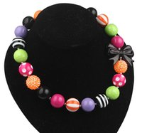 beaded butterfly choker - Black Butterfly And Candy Color mm Beads Bubblegum Girls Necklace Children s Gift