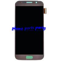 Pour Samsung Galaxy S6 lcd numériseur avec la qualité orginal pour G920 G920A G920F G920K G920L affichage plein écran à cristaux liquides