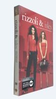 Wholesale Rizzoli Isles The Complete Sixth Season Six Disc Set US Version DVD Boxset
