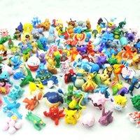 Wholesale Poke go Figures Monster Action Figures CM Children Cartoon Squirtle Bulbasaur Pikachu