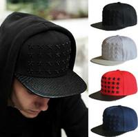 baeball hats - Snapbacks Baeball Cap Flat Hip Hop Caps Fashion Snap Backs Adjustable Hats Men Caps Women Ball Caps Top Quality Punk Hiphop Snapback Caps