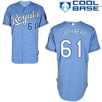 alternating light - Personalized Customized Kansas City Royals Alternate Royals on Front Mens Cool Base Jerseys Cheslor Cuthbert Light Blue Baseball Jersey