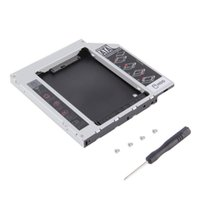 Wholesale SATA nd HDD HD Hard Driver Caddy for mm Universal CD DVD ROM Optical Bay Brand New