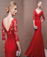 beautiful celebrity dresses - Red Celebrity Dresses Online Beautiful Elegant Formal Wear Graceful Evening Dresses New Arrival Vestimenta Formal