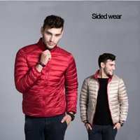 big collar hoodie - 2016 High Quality Brand Jacket Men s Down Coats Winter Cold proof Hoodies Sided wear Short Paragraph Big Yards Jacket Coat