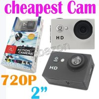 Wholesale EKEN A7 Action Camera M Waterproof P fps Inch Screen Degree Lens MP Photo mAh Battery Sports DV DVR