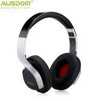 Cheap Ausdom M08 Wireless Bluetooth V4.0+Wired 3.5MM Headphone Perfect Sound Foldable Flexible Low Power Consumption 250H Standby