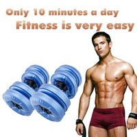 Wholesale Hot Water dumbbell for men to body muscle gym with RoHS approved 1 Pair