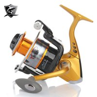 Cheap reel set New Arrival YB3000 12 1BB Spinning Fishing Reel Gold Color Fishing Wheel 5.5:1 3000 Series Reels Hot Sale