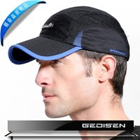 Wholesale GEDISEN new summer fast dry soft outdoor baseball caps colors fine quality sun hats