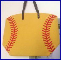 Wholesale Outdoor fashion baseball Kids Cotton Canvas Sports Bags Baseball Softball Tote Bag for Children